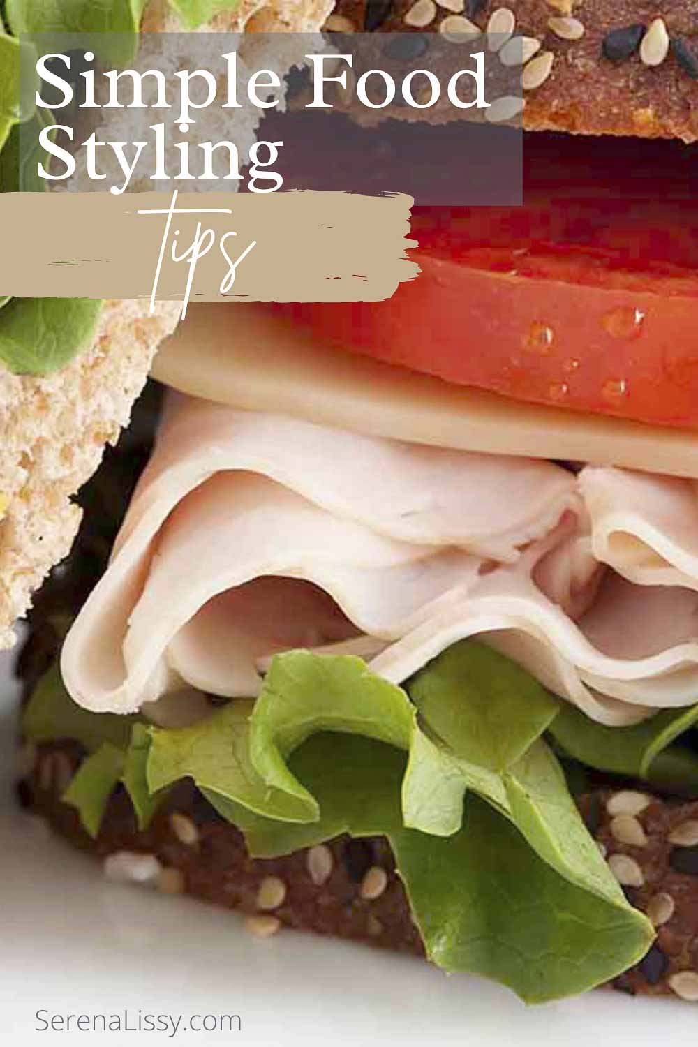 Simple Food Styling with Sandwich