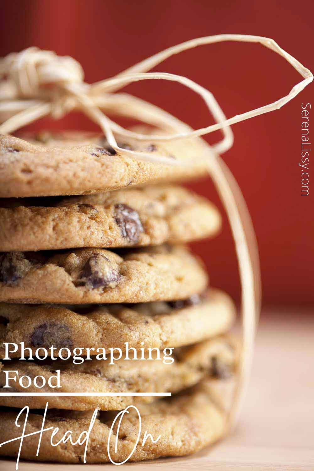 Cookie Stack Food Photography Tips