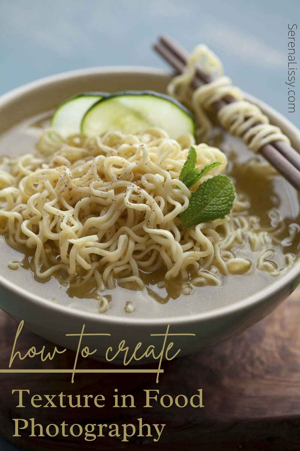 How To Create Texture In Food Photography