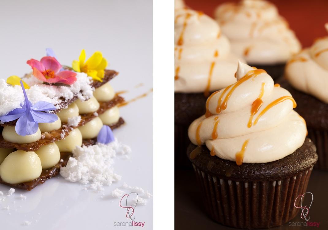 Dyptic Napoleon & cupcake