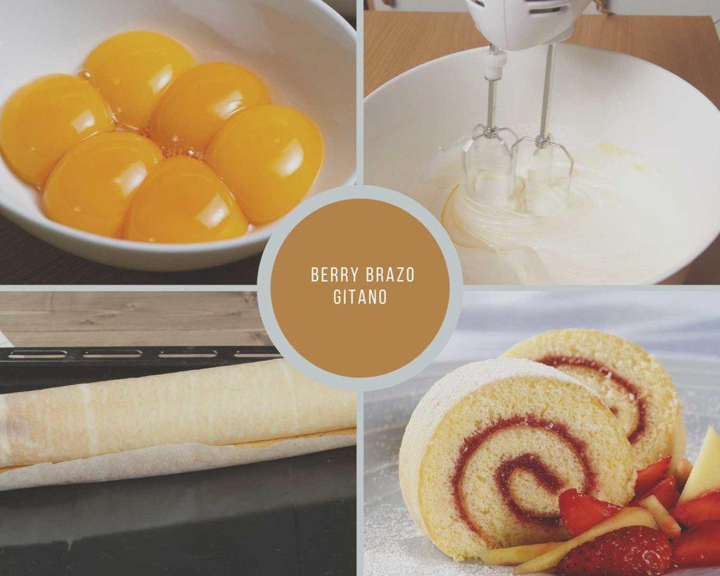 Berry Brazo Gitano Process Collage