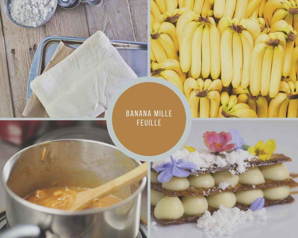 Banana Napoleon Process Collage