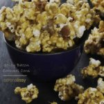 Spicy Bacon Caramel Corn in bowl