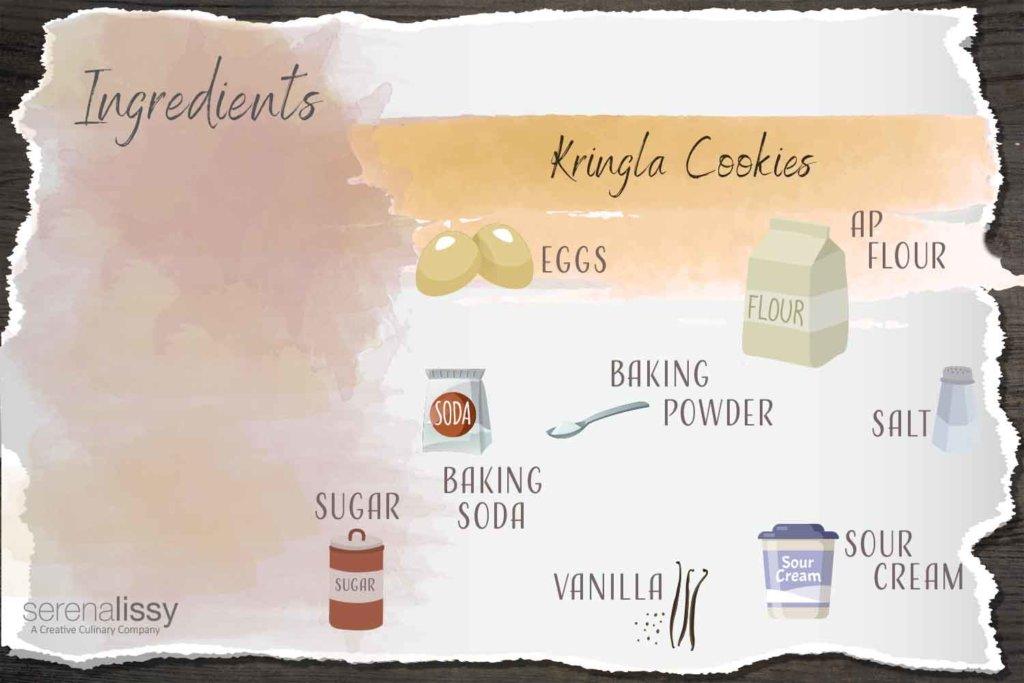 Kringla Cookies Ingredients