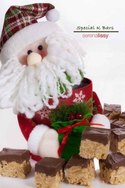 Santa With Special K Bars
