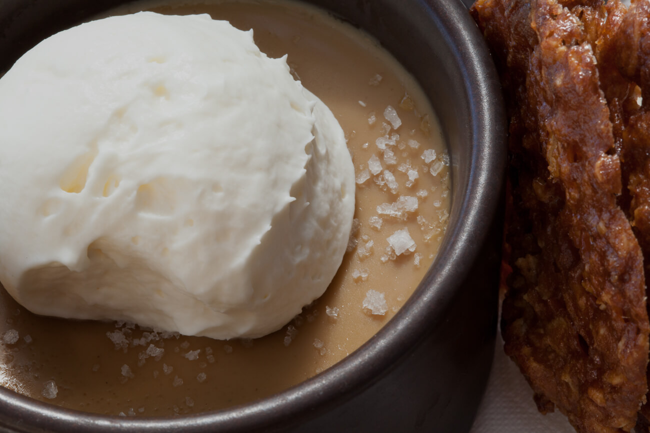 Salted Butterscotch Pot de creme
