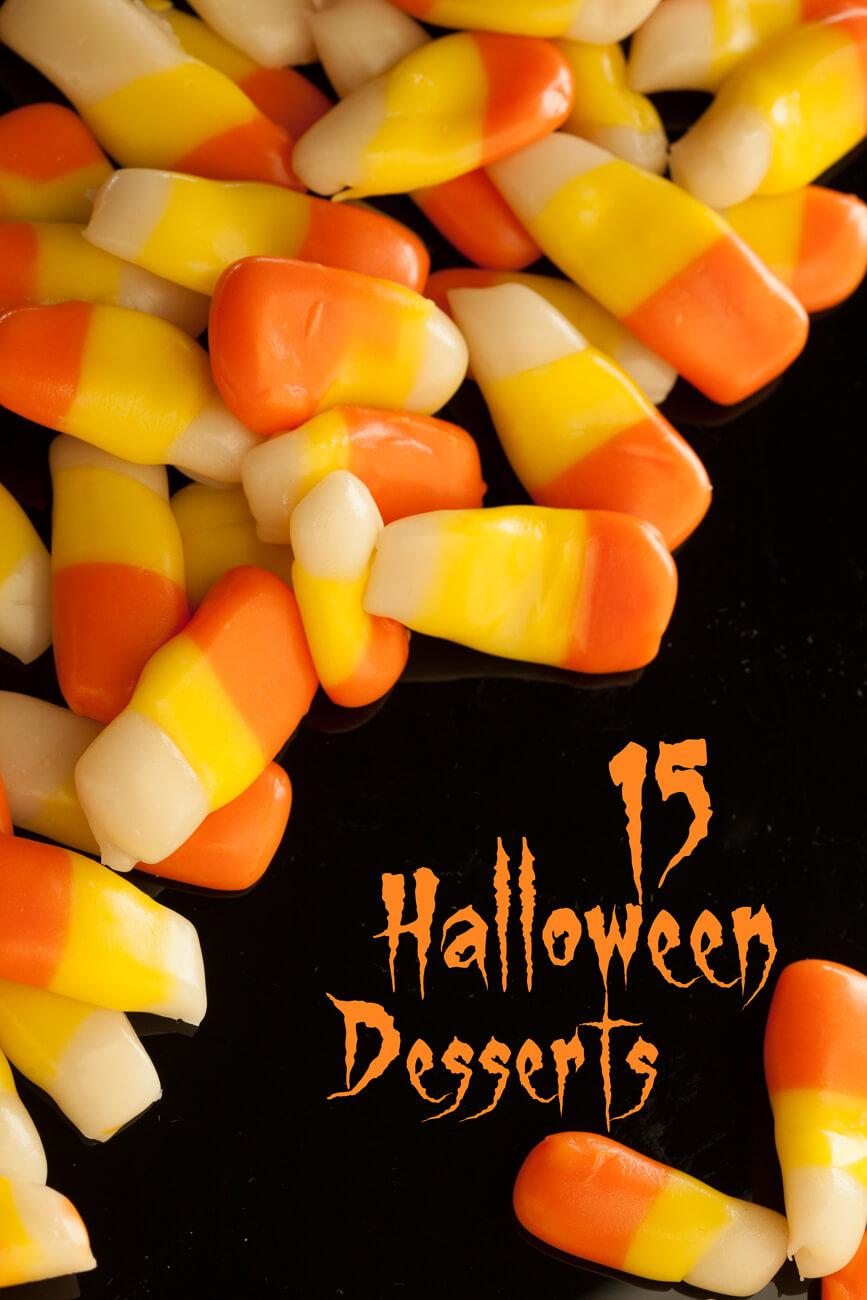 15 Halloween Desserts