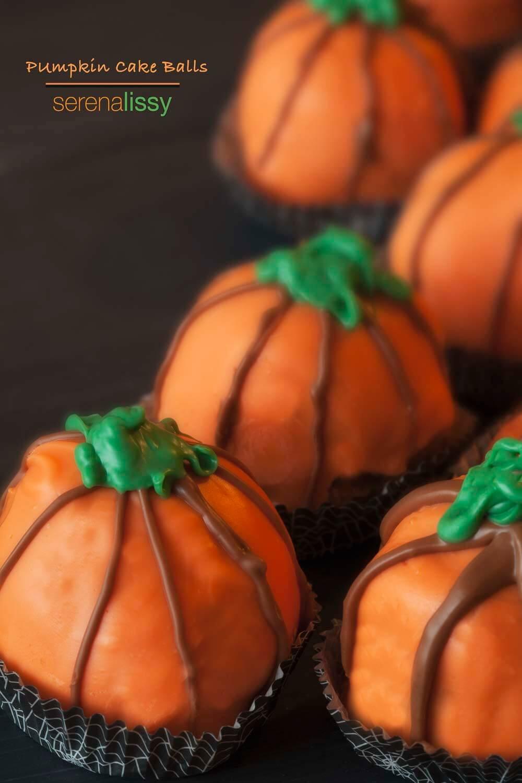 Pumpkin Bread Cake Balls