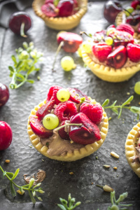 Chocloate Cream Tartlets