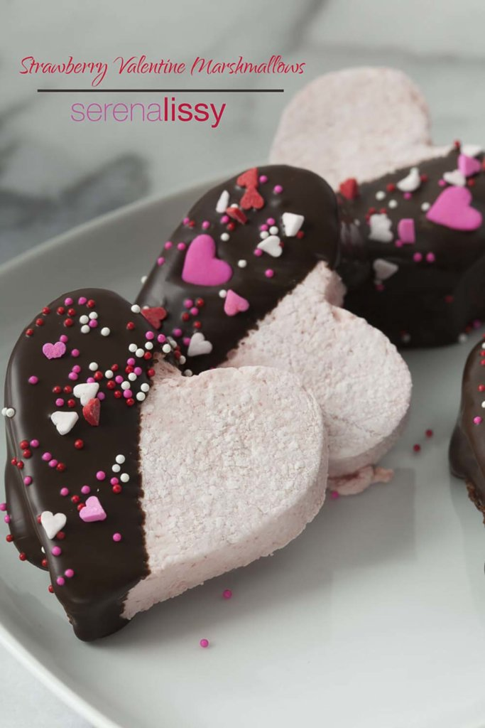 Chocolate Covered Strawberry Marshmallow