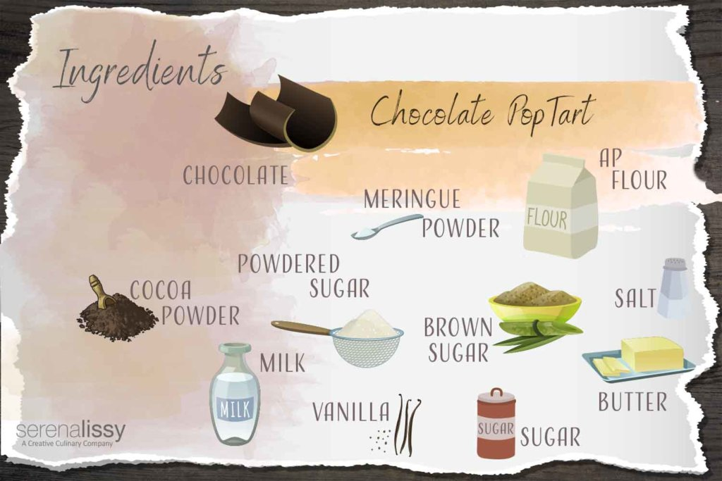 Chocolate Pop Tarts Ingredients