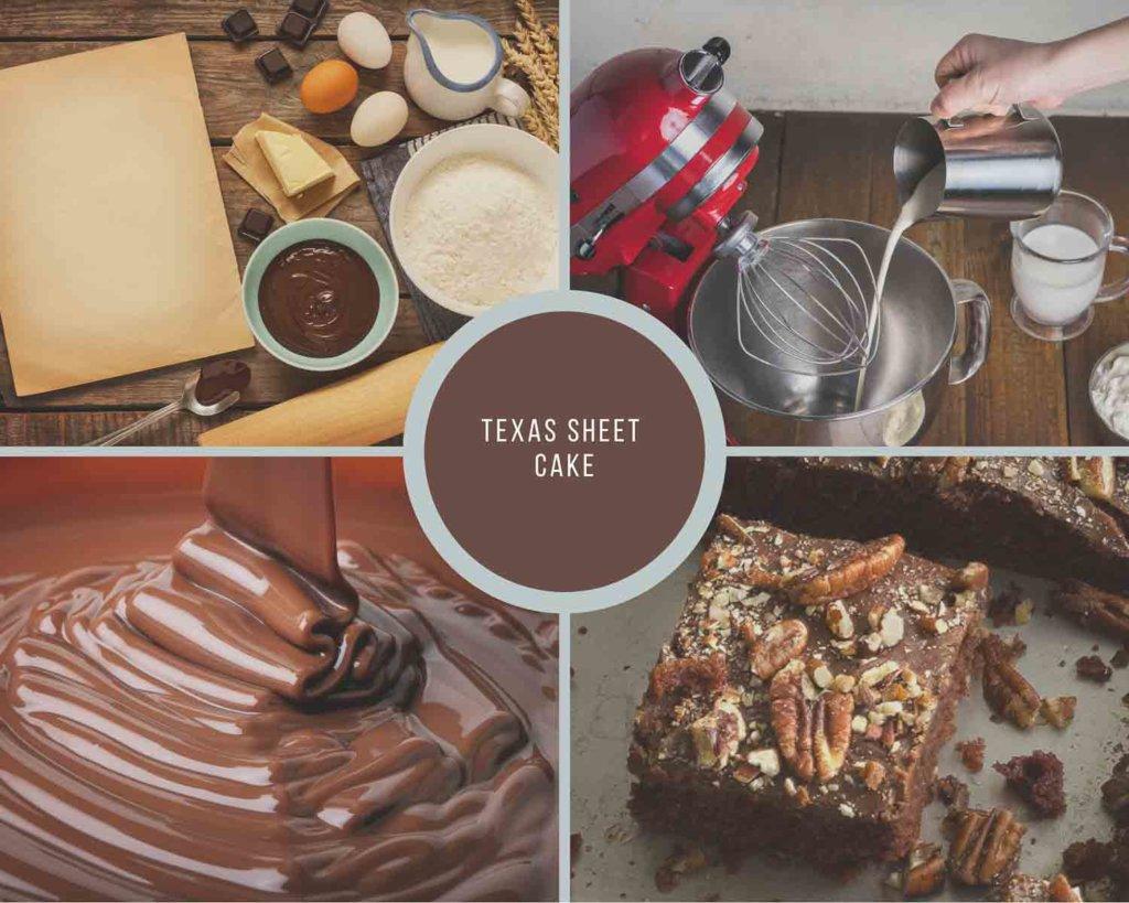 Texas Sheet Cake Process