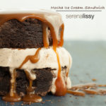 Mocha Ice Cream Sandwich