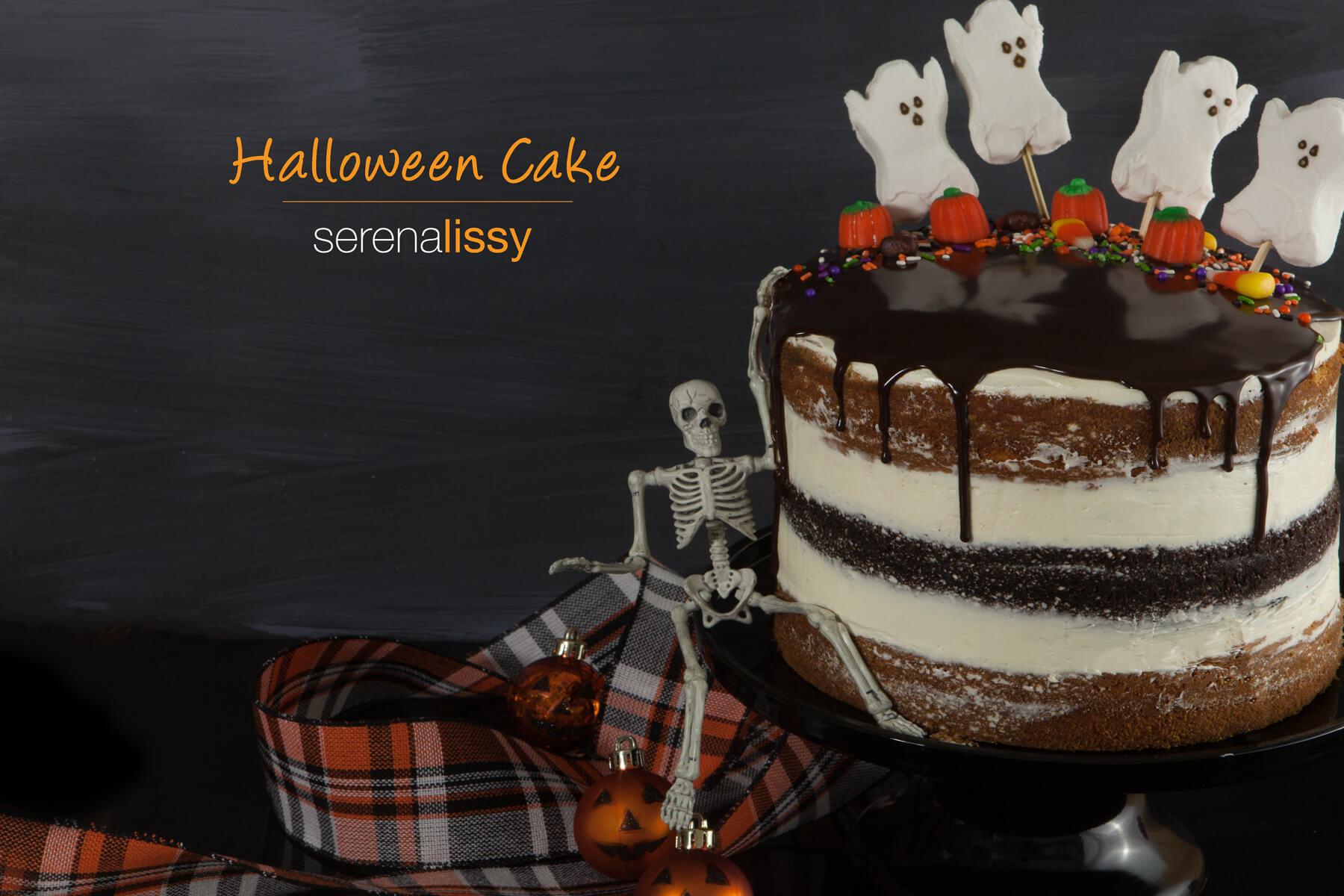 Elegant Halloween cakes