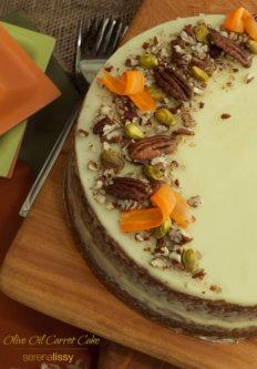 Olive Oil Carrot Cake