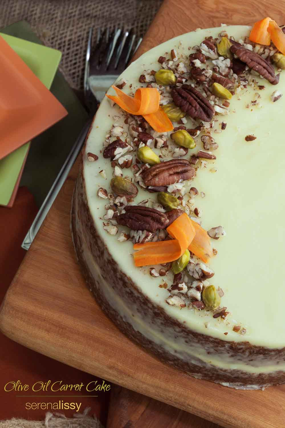 Carrot Cake With Extra Virgin Olive Oil