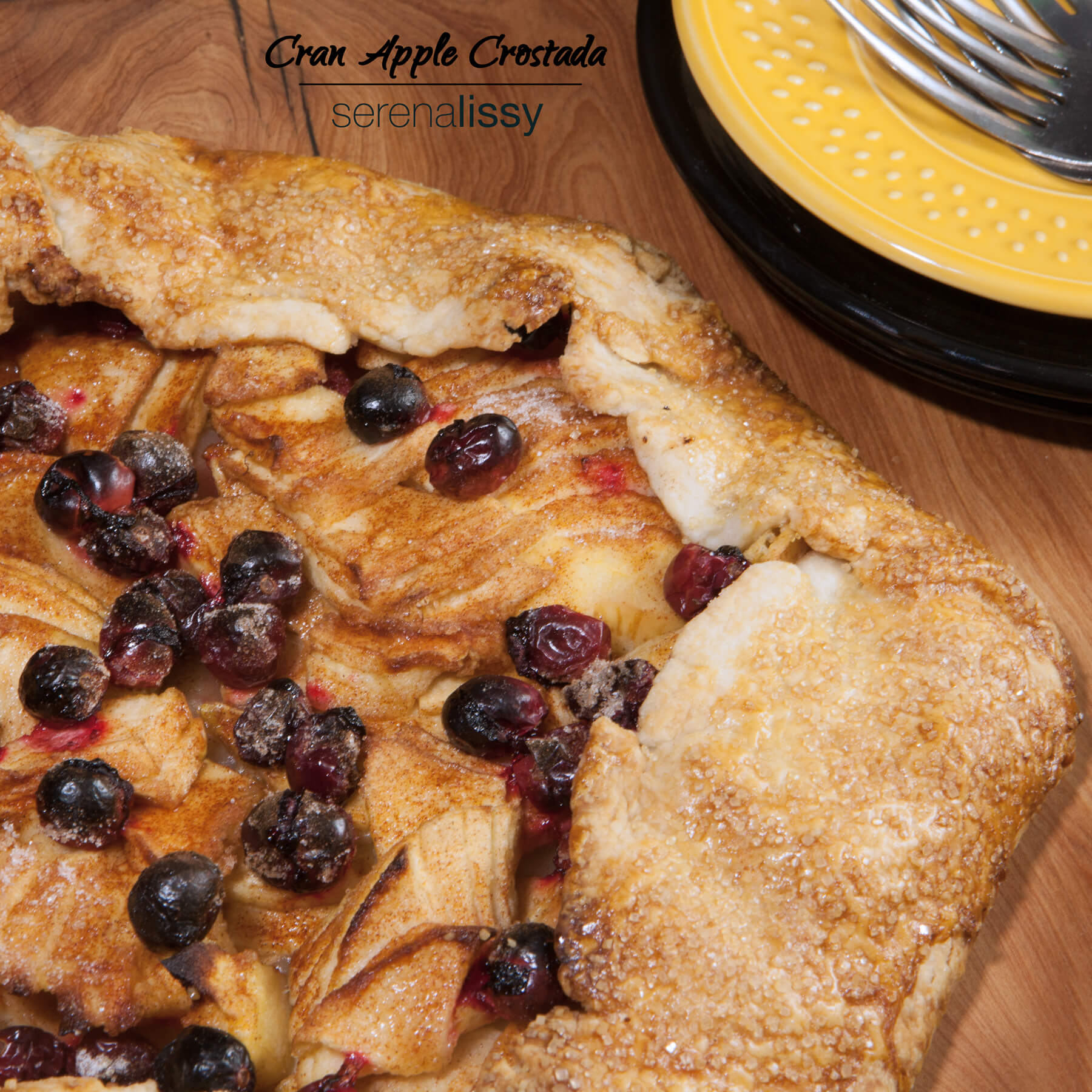 Fresh Cran Apple Crostata