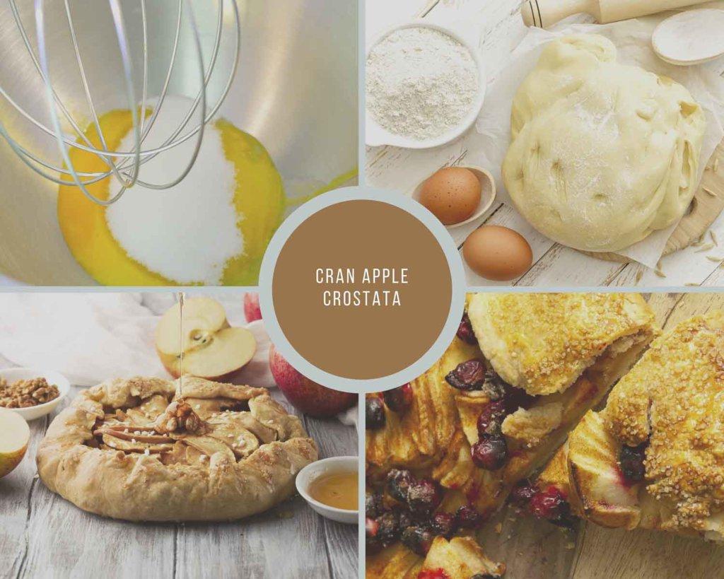 How to make cranberry apple crostata
