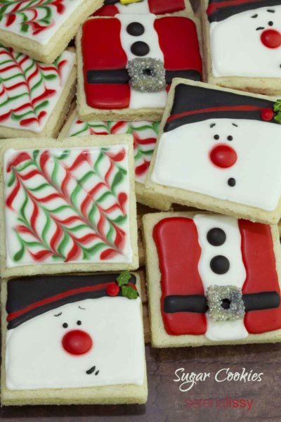 Sugar Cookies Decorate for Christmas