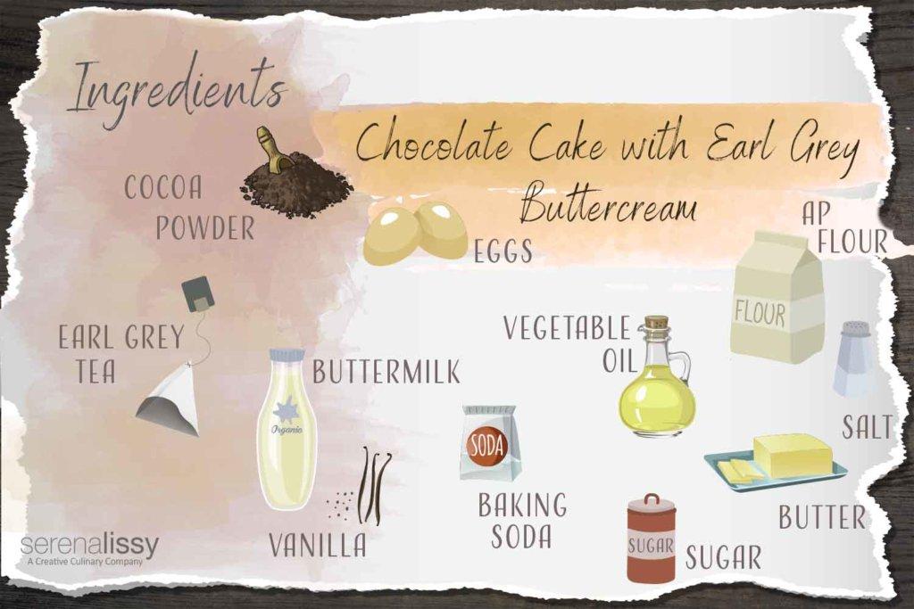 London Fog Cake Ingredients