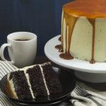 Chocolate Cake With Earl Grey Buttercream