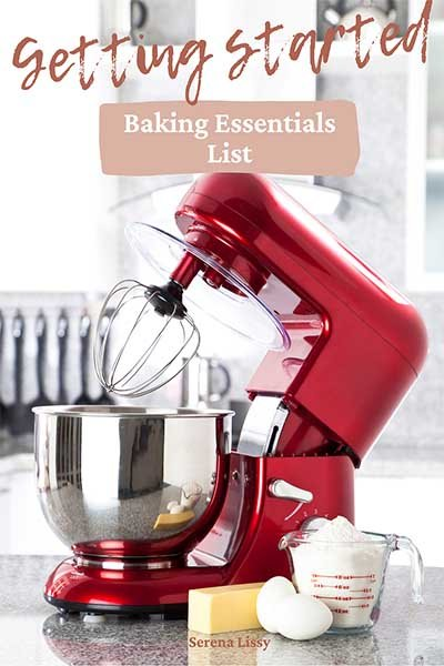 KitchenAid Stand Mixer on Counter