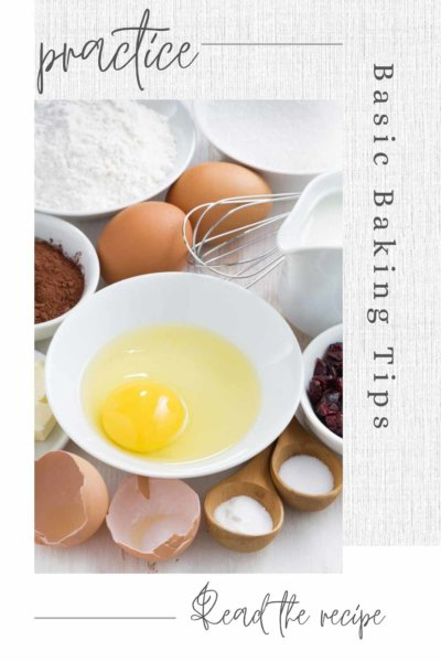 Baking Ingredient tips