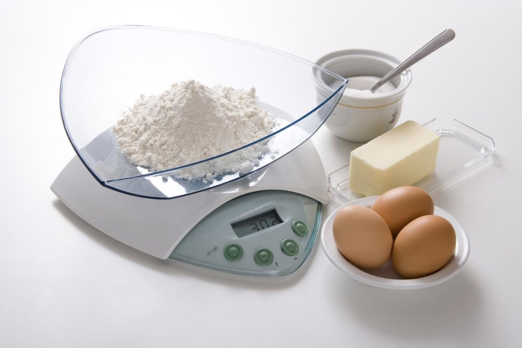 Baking Tip #3 for the perfect Cake, Kitchen Scale