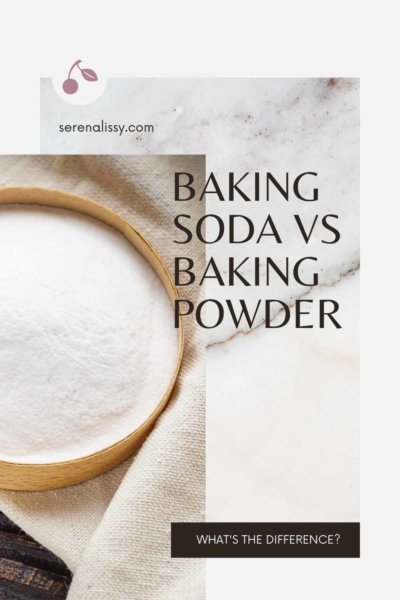 Bowl of baking soda on a towel on tabletop