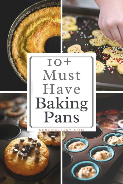 Muffin, Cookie, and Bundt Baking pans