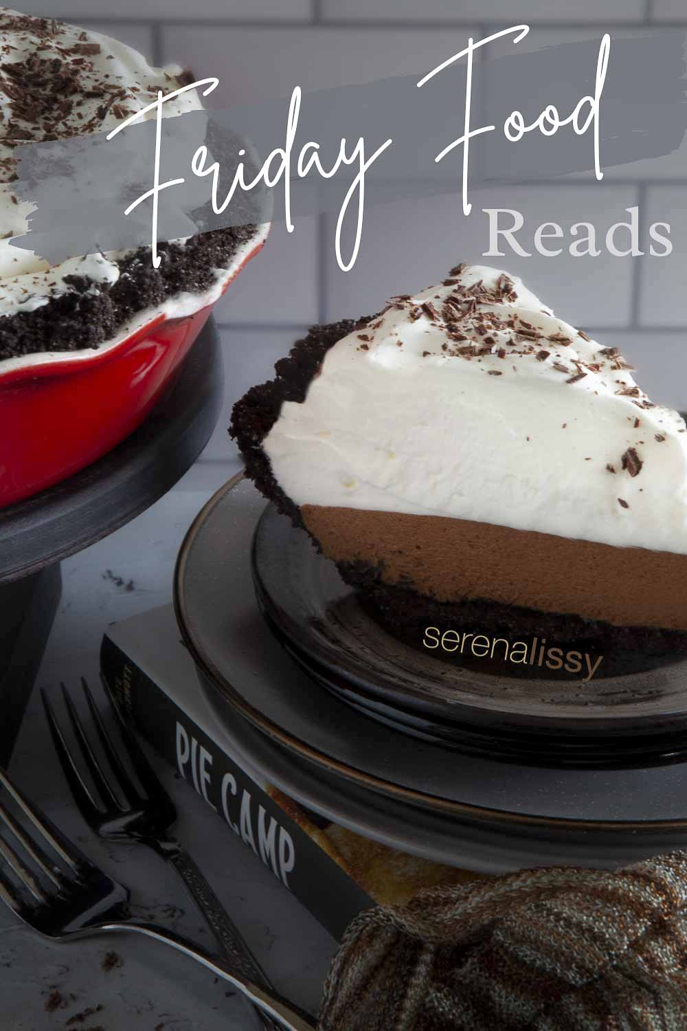 French Silk Pie on Plate