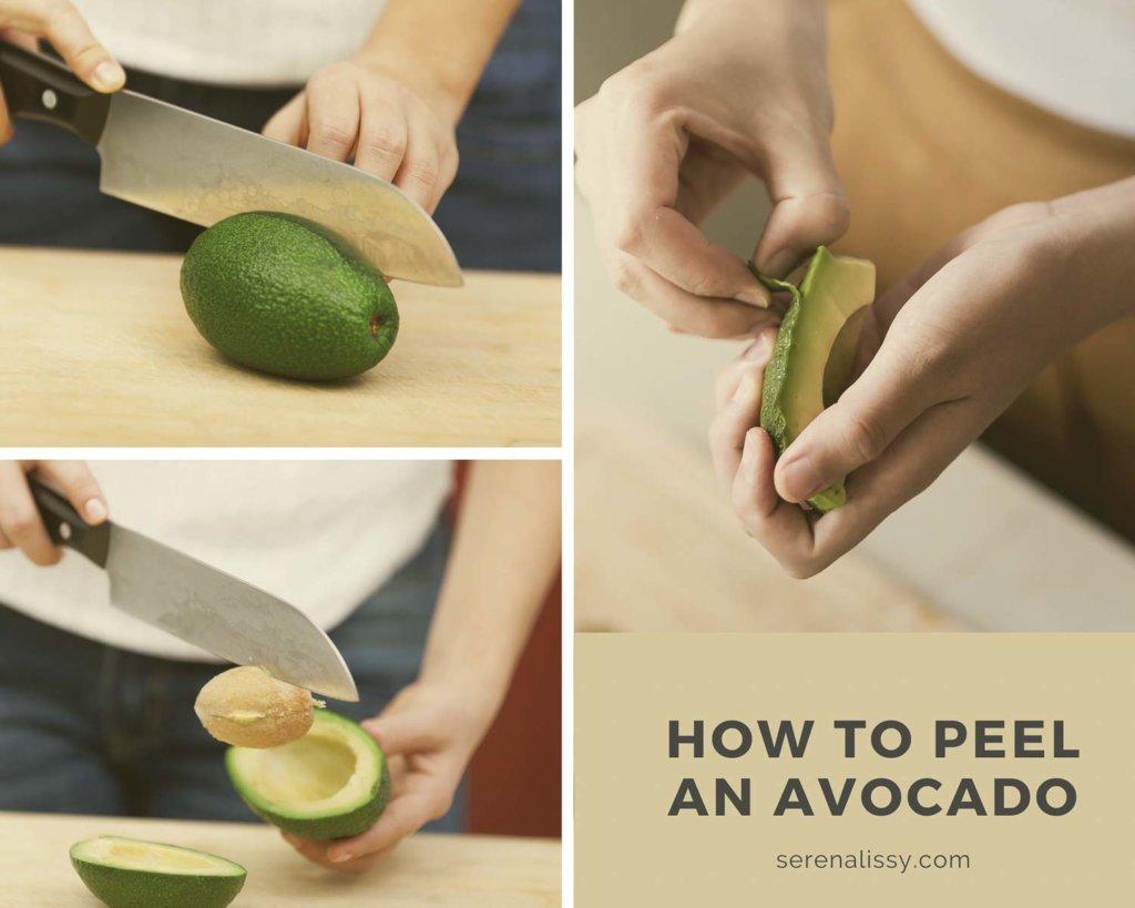Steps to Peel an Avocado