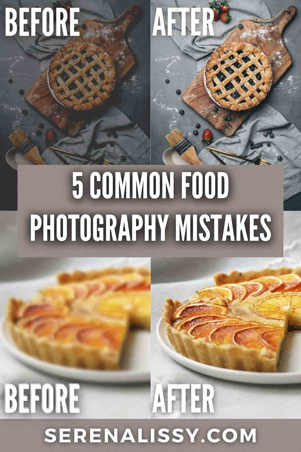 Food Photography Mistake Examples