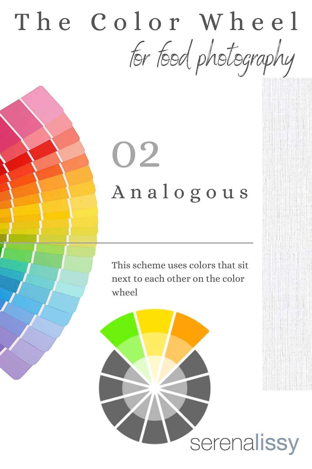 Analogous Example of Color Wheel