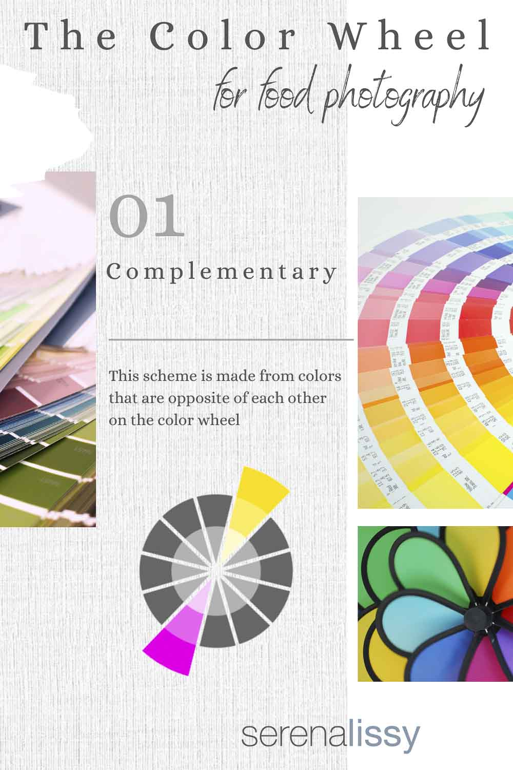 Complementary Examples of Color Wheel