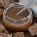 salted caramel in jar
