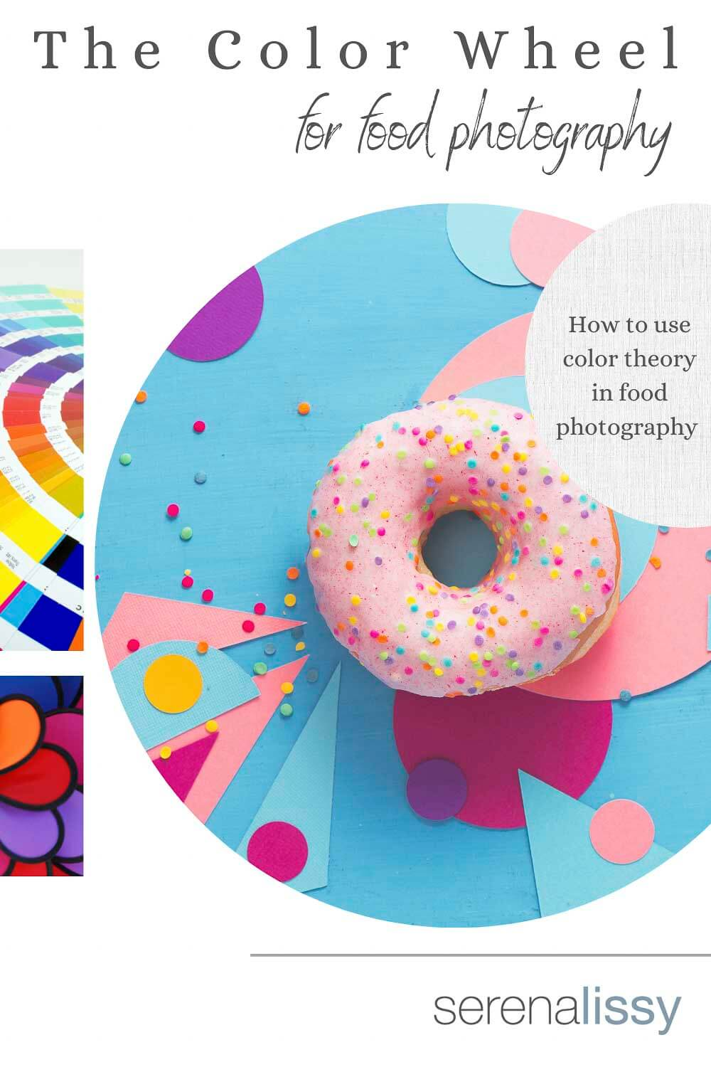 Food Photography Example of Color Wheel