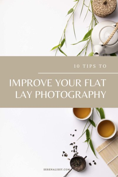 Flat lay photography example