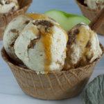 Bowl of Apple Ice Cream